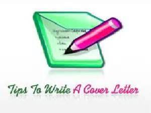 What do u write in a cover letter